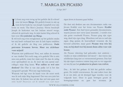 7. Marga en Picasso