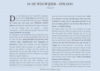10. De wegwijzer – Epiloog